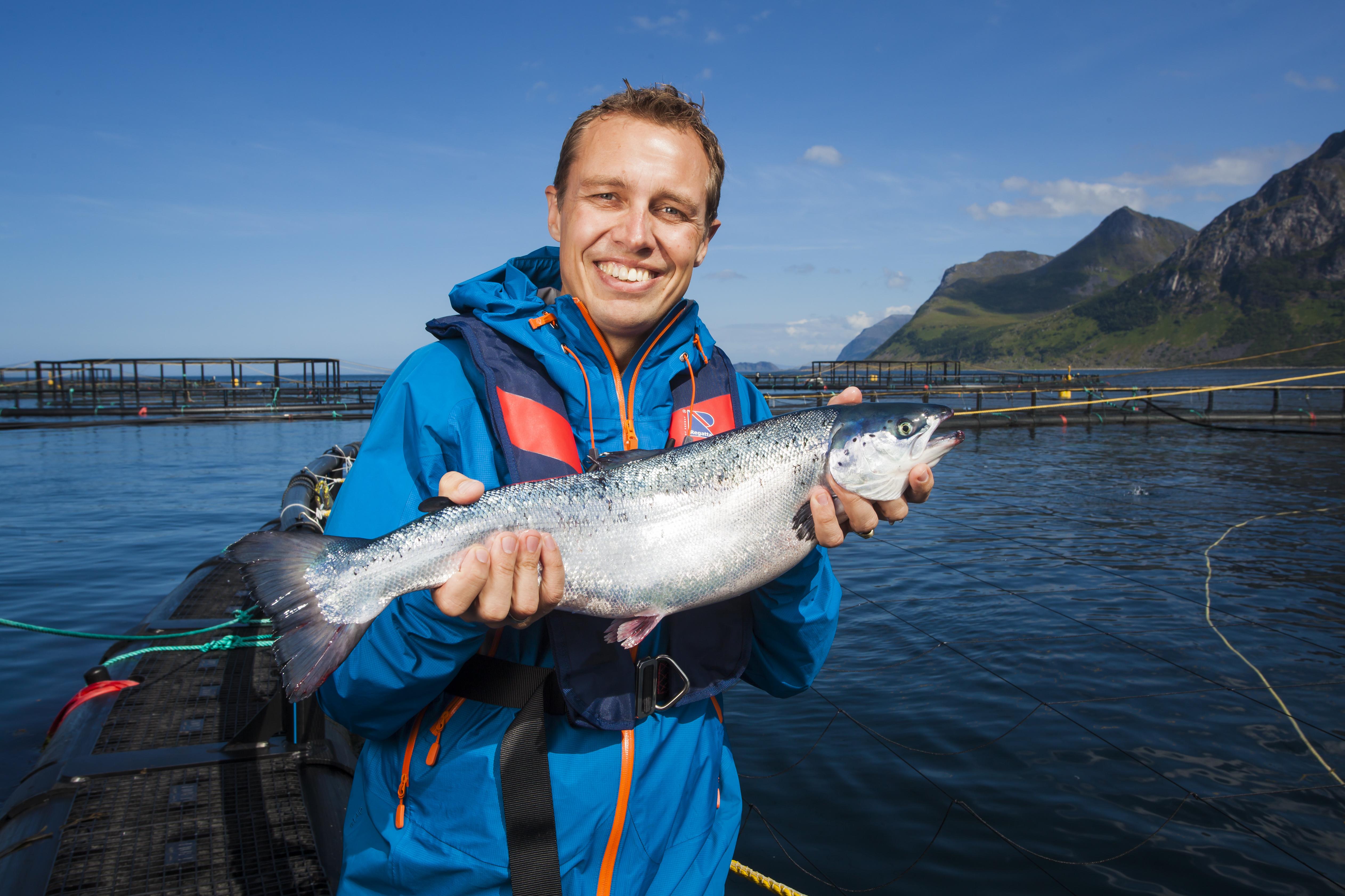 Fra en pressetur med Norges sjømaetråd. Foto: Marius Fiskum © Norges sjømatråd