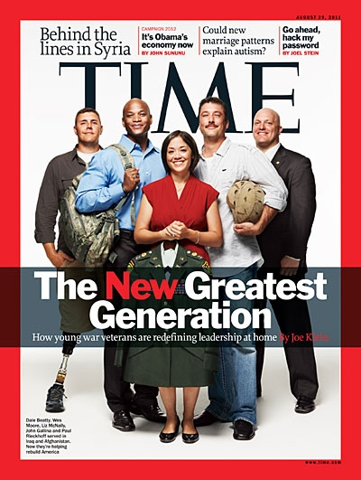 Time Magazines cover 29. august  2011