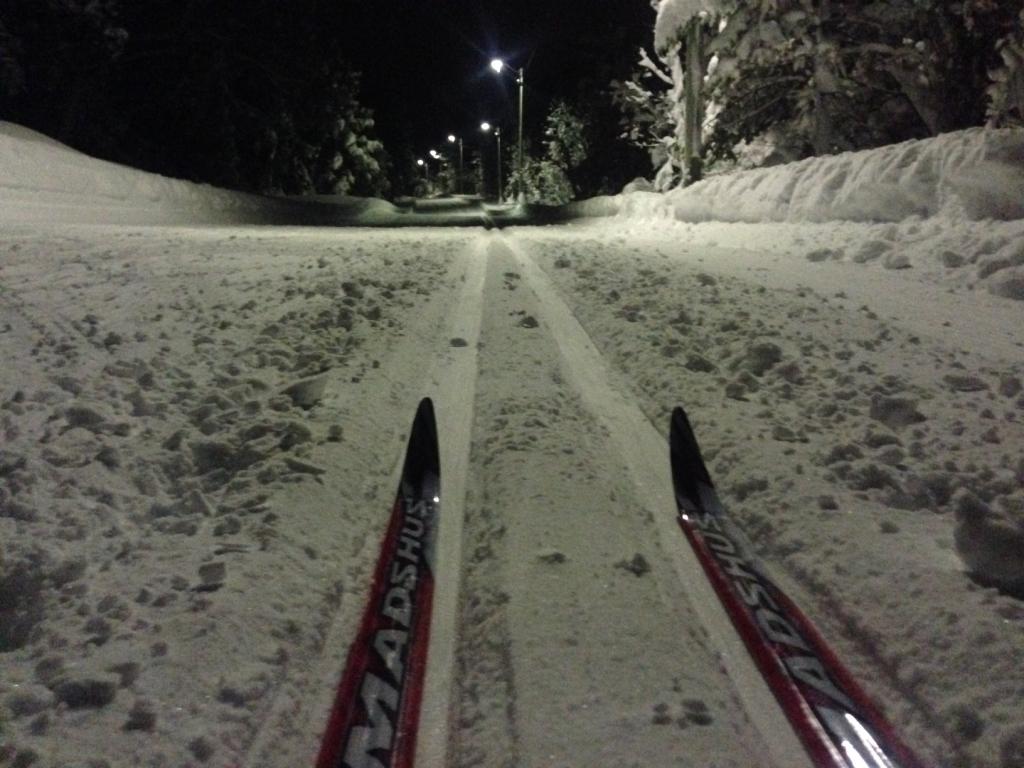 Ski, snø og godt humør. Tre ting som henger fint sammen.
